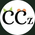 Camping Critterz logo 2 capital Cs with ears and a small z with ears