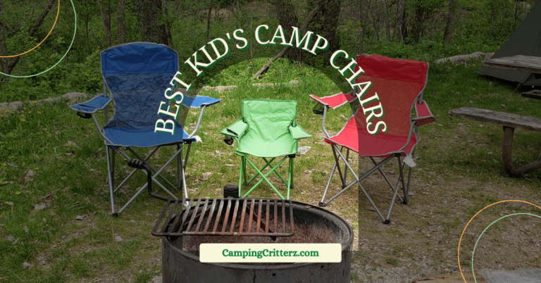 The BEST Camping Chairs for Kids